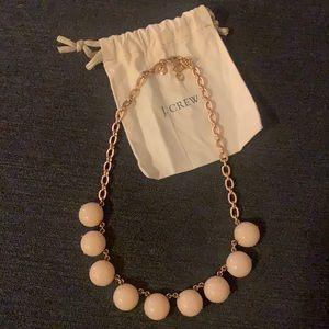 JCrew Pink Bubble Statement Necklace - Adjustable
